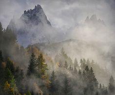 Hans Strand - Clearing Rain Storm, Chamonix, France, November 2013.