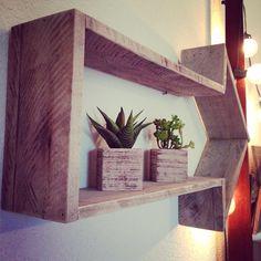 Reclaimed wood shelf arrow by AxelCo on Etsy