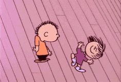 cute peanuts dance Charlie Brown snoopy snoopu