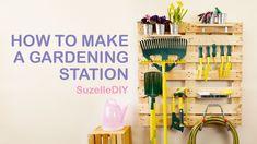How to make a Gardening Station | SuzelleDIY