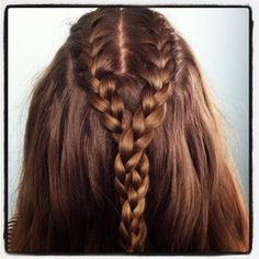 Double French Braid and Twist | Game of Thrones Hairstyles and more Hairstyles from CuteGirlsHairstyles.com