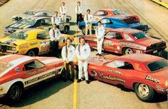 Funny Car Lineup with drivers - Cars Funny Car Drag Racing, Nhra Drag Racing, Funny Cars, Drag Bike, Drag Cars, Toy Trucks, Vintage Humor, Vintage Racing, Car Humor