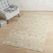 Pasha Heirloom Traditional Cream Rug