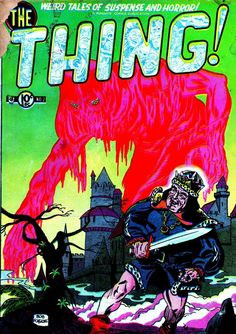 Comic Book Cover For The Thing v1 #2