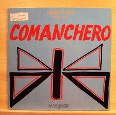 RAGGIO DI LUNA (MOON RAY) - Comanchero - mint minus minus- Vinyl 12  Italo Disco