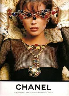 Chanel A/W 1991Photographer: Karl LagerfeldModel: Christy Turlington by benita