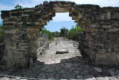 San Gervasio Mayan Ruins, Cozumel, Mexico