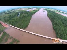 Red River Flooding Pecan Point - YouTube