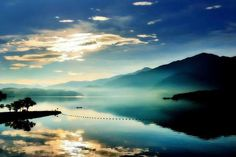 日月潭,台湾 Sum moon lake, Taiwan