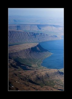 ✯ Aerial view of the West Fjords - Iceland