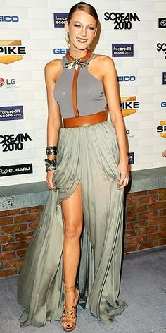 Spike TV's Scream 2010 Awards in  Lanvin's Spring 2011 runway gown