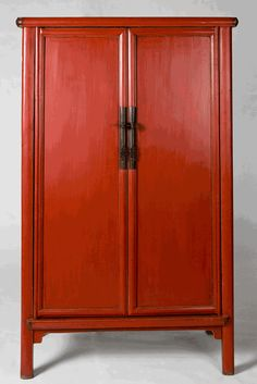Antique Asian Furniture: Chinese Wedding Cabinet Armoire from Shanxi Province, China