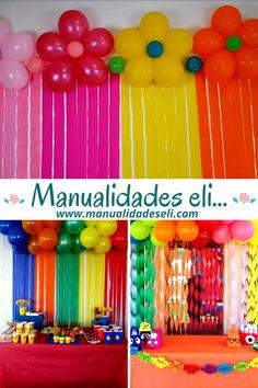 Simple Birthday Decorations, 1st Birthday Party Themes, Trolls Birthday Party, Balloon Decorations Party, Birthday Diy, Unicorn Birthday Parties, Birthday Traditions, Halloween Party Games, Balloons