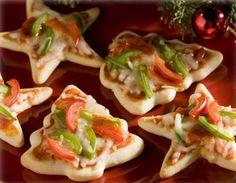 #Ricette di #Natale, deliziose pizzette a forma di alberello!
