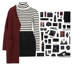 """""""Billie Jean"""" by blood-drops ❤ liked on Polyvore featuring Topshop, Monki, Zara, Marie Turnor, New Balance, Manic Panic, Chanel, Bobbi Brown Cosmetics, CÉLINE and iittala"""