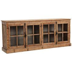 Solid Wood Sideboard, Wood Buffet, Sideboard Cabinet, Kitchen Sideboard, Sideboard Furniture, Rustic Sideboard, Cabinet Storage, Houses, Cabinets