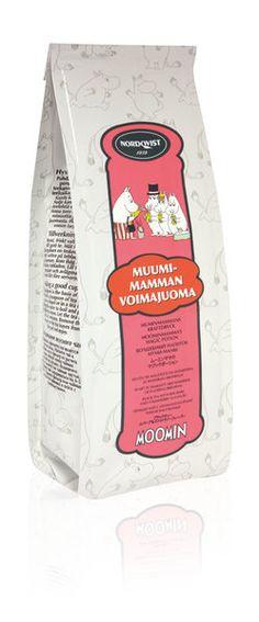 Φ Moominmamma's Magic Potion - Nordqvist tea® is black tea flavored with rhubarb and strawberry flavors. I have never developed a liking for rhubarb but I do now. This tea was an eye opener, a delicious magic potion. Now I need to go find some more. 09/03/15 Φ FI