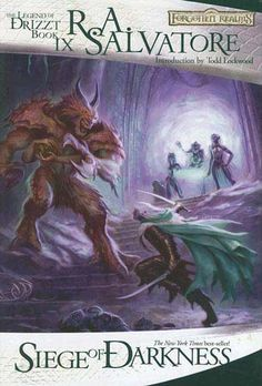 R.A. Salvatore - Legacy of the Drow Book 3 - Siege of Darkness