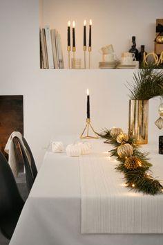Kovový svícen - Zlatá - HOME | H&M CZ 1