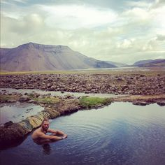 Strutslaug is a hidden gem in Iceland ! Super cool hot spring next to a glacier river. It's a must to take a dip in the freezing river between sessions in the warm water. You need to have a jeep to reach this place. It's around an hour walk from the road, it's a well…