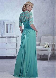 A-line Gown Sweetheart Neckline Floor-Length Mother Dress