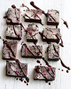 Healthy Chocolate Brownies Recipe (with chickpeas, pumpkin, teff flour and dates) Gluten-Free & Vegan