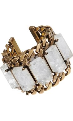 Shop Women's Givenchy Bracelets on Lyst. Track over 1894 Givenchy Bracelets for stock and sale updates. Crystal Bracelets, Crystal Jewelry, Bangle Bracelets, Bangles, Jewelry Box, Jewelry Accessories, Fashion Accessories, Fashion Jewelry, Chain Jewelry