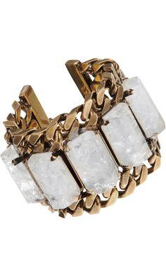 #Givenchy Rock Crystal Bracelet