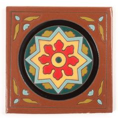 Old California 1 Cuerda Seca - Fireclay Tile