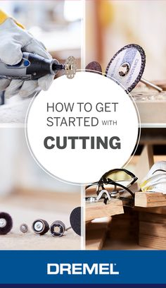 How to get started with cutting with a dremel rotary tool: From picking the right accessories and attachments to knowing how to use them. Dremel Werkzeugprojekte, Dremel 4000, Dremel Bits, Dremel Wood Carving, Dremel Rotary Tool, Awesome Woodworking Ideas, Woodworking Projects That Sell, Woodworking Joints, Woodworking Workshop