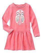 Sparkle Owl Dress