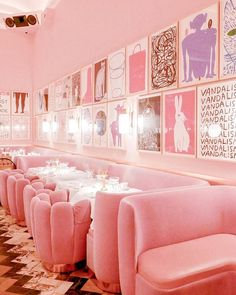 This place still has me dreaming in pink