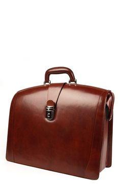 Bosca Briefcase in Cognac