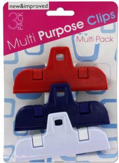 Medium Multi-Purpose Clip Set Case Pack 12