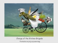 Charge of the Kitchen Brigade.