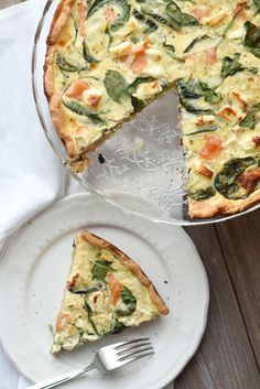 Spinat-Lachs-Quiche 4
