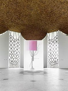 Baum 3 (Installation View): Alber Ohlen & Wolfgang Voigt by Albert Oehlen