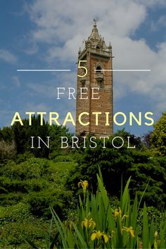 My Top 5 Free Attractions in Bristol, England! Click through to read more on my travel blog :)