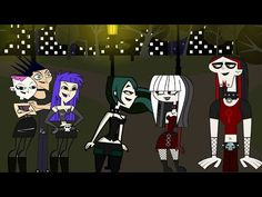 Total Drama ☠ The Story of a Goth ☠ - YouTube