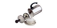 CAPPUCCINATORE MANUALE - FRABOSK CASALINGHI s.p.a.  Realizzato in acciaio inox con coperchio trasparente, permette di ottenere un cappucino cremoso come al bar ma anche: caffè macchiato/alla crema, caffèlatte, frappè, the, latte/menta, irish coffee e panna montata.  Disponibile in diversi formati: 1 Tz. e/o 3 Tz.