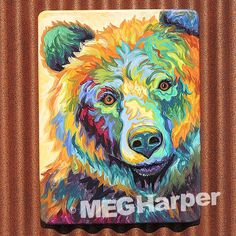Can't Bear It ~ Meg Harper Art Grizzly Bear Painting — Meg Harper Art
