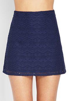 Ornate Crocheted Skirt - Skirts - 2000107388 - Forever 21 UK