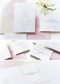 INTRODUCING THE BOURNE GLAM SUITE - Sincerely, Jackie Blog - Sincerely, Jackie | Long Island Wedding Invitations | Letterpress, Foil Stamping and Engraving