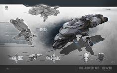 Ibis - The Caldari starter ship in EVE