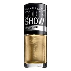 Maybelline Color Show Holographic Nail Lacquer - 45 Bold Gold