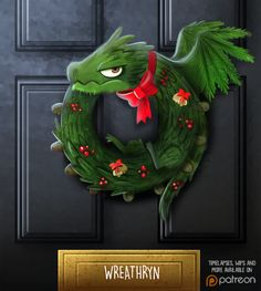 Merry Christmouse and happy howlidays! Canadian character designer and illustrator Piper Thibodeau (previously featured here) creates a new digital painting every day. Right now each painting features a punny Christmas theme and they are, in a word, awesome.