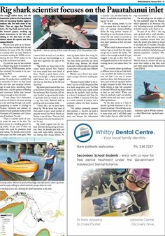 Whitby Newsbrief for current month Dental Center, I Can, Shark, Sharks