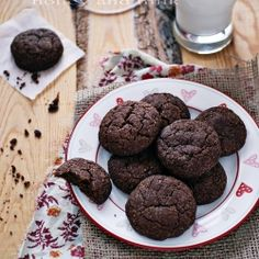 Cocoa cinnamon cookies