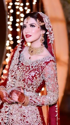 You are in the right place about Bridal Outfit etsy Here we offer you the most beautiful pictures about the Bridal Outfit for getting ready you are looking for. When you examine the part of the pictur Asian Bridal Dresses, Pakistani Wedding Outfits, Wedding Dresses For Girls, Bridal Outfits, Weeding Dresses, Pakistani Dresses, Pakistani Bridal Makeup, Indian Bridal Fashion, Pakistan Bridal