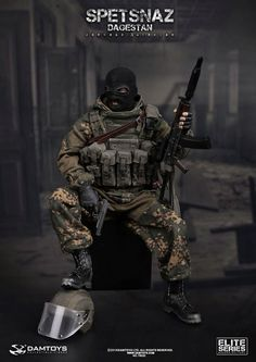 onesixthscalepictures: DAM Toys SPETSNAZ in DAGESTAN : Latest product news for 1/6 scale figures (12 inch collectibles) from Sideshows Collectibles, Hot Toys, Medicom, TTL, Triad Toys, Enterbay and others.